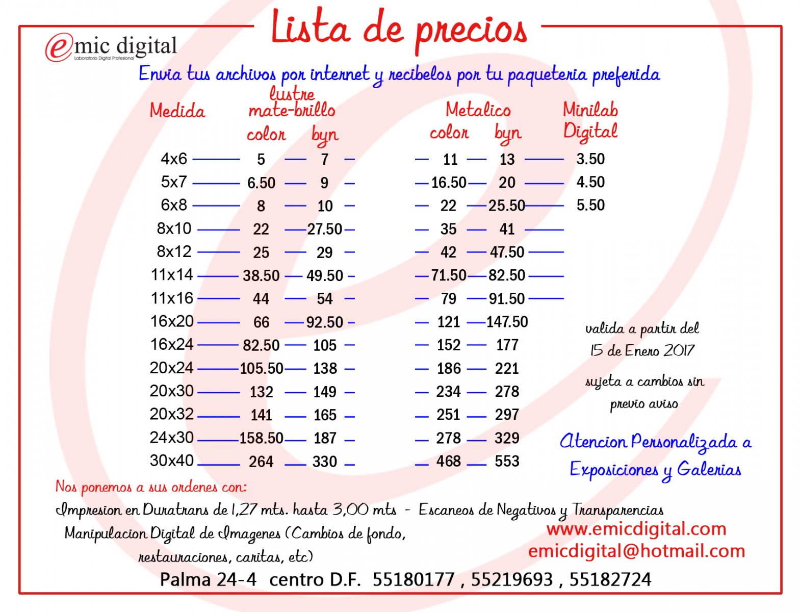EMIC DIGITAL - Laboratorio Digital Profesional
